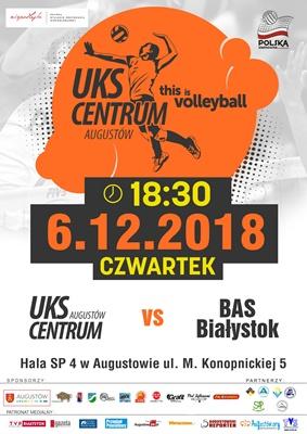 Spotkanie UKS Centrum Augustów vs BAS Białystok